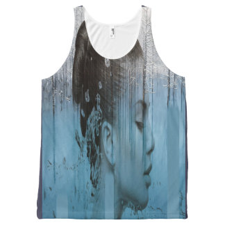 Winter All-Over Print Tank Top