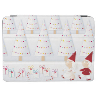 Winter and forest all covered with snow iPad air cover