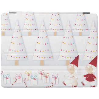 Winter and forest all covered with snow iPad cover