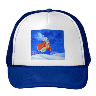 Winter Angel Mesh Hat