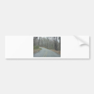 Winter at Natchez Trace Parkway MS Bumper Sticker