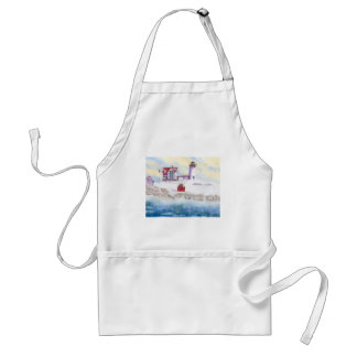 winter at Nubble LIghthouse in Maine Standard Apron