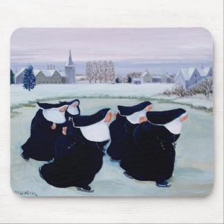 Winter at the Convent Mouse Mat