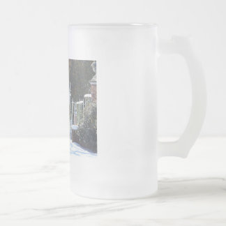 Winter At The Palace - Colonial Williamburg Frosted Glass Mug