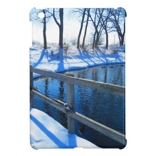 Winter at the park iPad mini covers