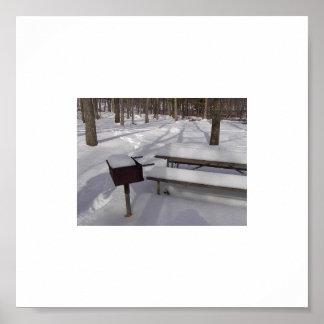 Winter Bar-B-Que- M 1 Poster
