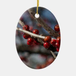 Winter Berries Christmas Ornament