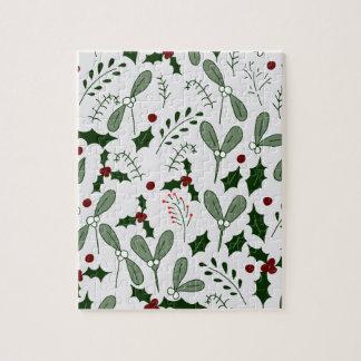 Winter berries puzzles
