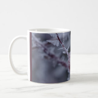 Winter Berry Basic White Mug
