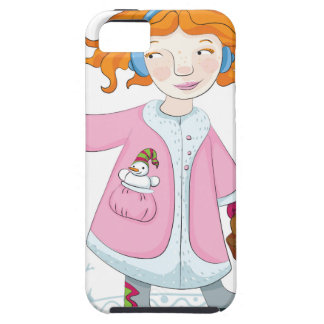 Winter bird case for the iPhone 5