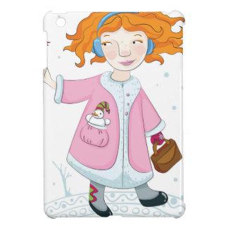 Winter bird cover for the iPad mini