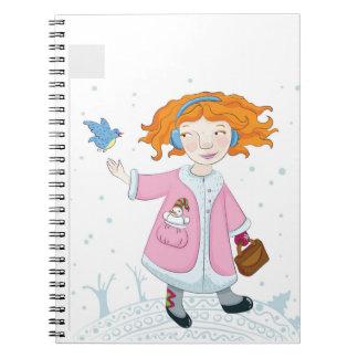 Winter bird notebook