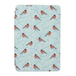 Winter Bird Pattern iPad Mini Cover