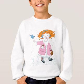 Winter bird sweatshirt
