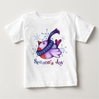 Winter bird tee shirts