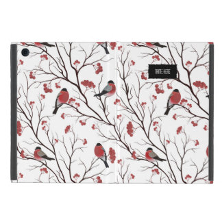 Winter Birds and Berries Cases For iPad Mini