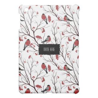 Winter Birds and Berries iPad Mini Case