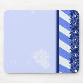 Winter Blue Mouse Pad