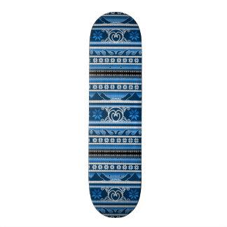 Winter Blue Nordic Design Skateboard Decks
