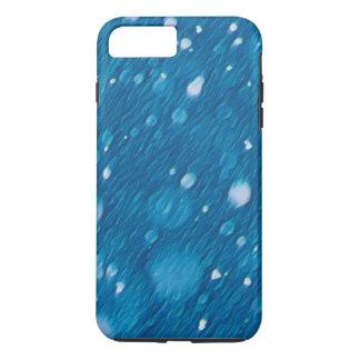 Winter Blue Snow Pattern  Apple iPhone case