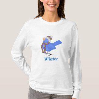 Winter Bluebird T-Shirt