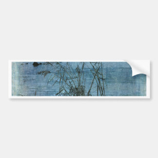 Winter Blues Bumper Sticker