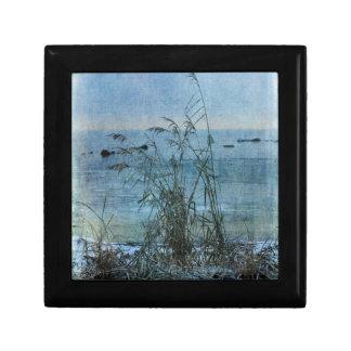 Winter Blues Small Square Gift Box