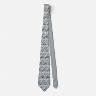Winter Branches Tie