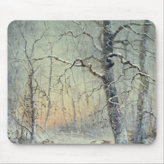 Winter Breakfast Mouse Mat