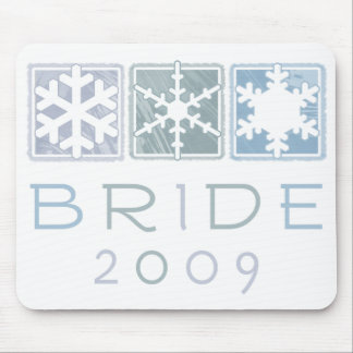 Winter Bride 2009 Mousepad