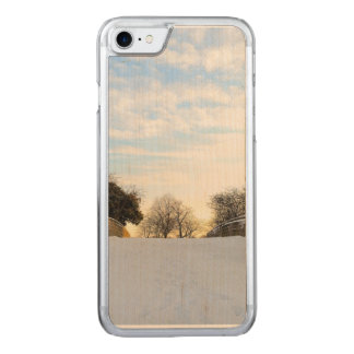 Winter Bridge Carved iPhone 8/7 Case