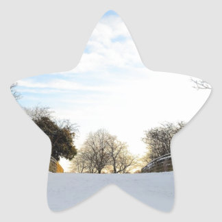 Winter Bridge Sticker