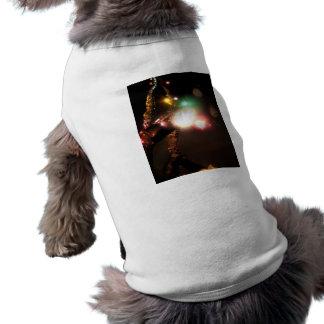 Winter Bright Sleeveless Dog Shirt