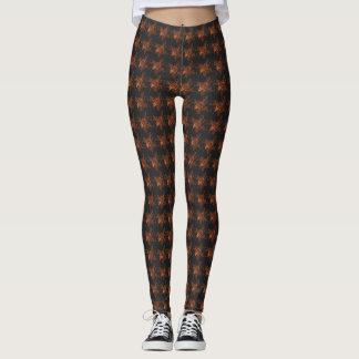 Winter-Bronze--Roses'-Everyday- LEGGING'S_XS-XL Leggings