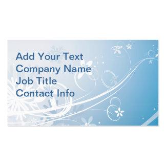 Winter Pack Of Standard Business Cards
