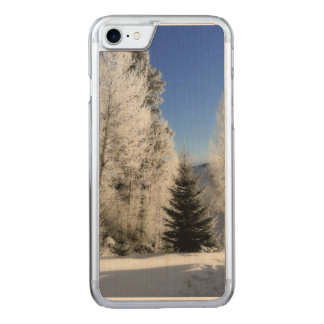 Winter by the Lake Carved iPhone 8/7 Case