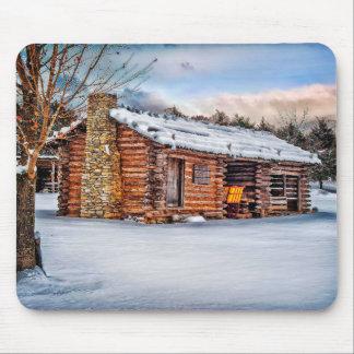 Winter Cabin Mouse Mat