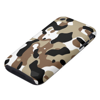 Winter Camouflage iPhone 3 Tough Case