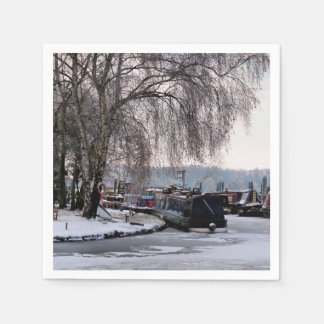 WINTER CANAL DISPOSABLE SERVIETTE