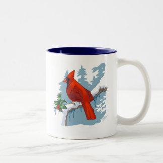 Winter Cardinal Mug