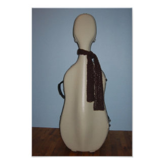 Winter Cello print