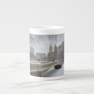 Winter - Central Park - New York City Bone China Mug