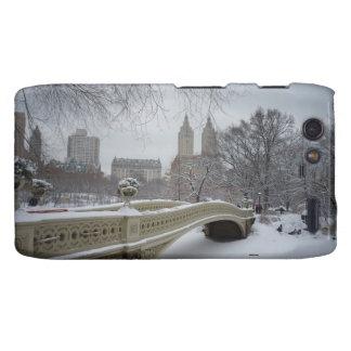 Winter - Central Park - New York City Droid RAZR Cases