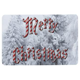 Winter Christmas Floor Mat