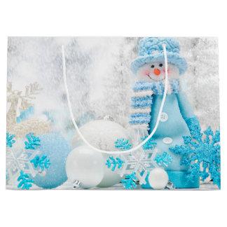 Winter Christmas holidays Gift Bag