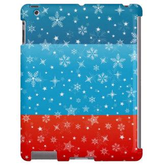 Winter Christmas Snowy Design iPad Case