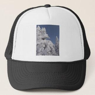 Winter Christmas Trees Trucker Hat