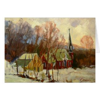 """Winter Church"" Holiday Card"