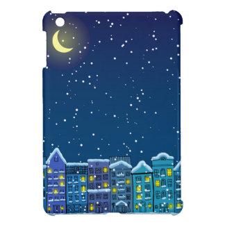 Winter city iPad mini covers