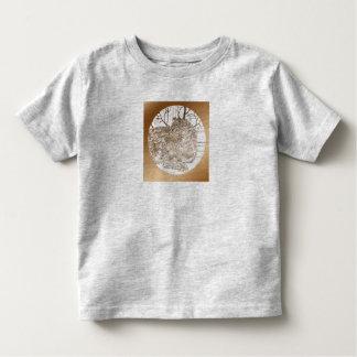 Winter Coat in Sepia Toddler T-Shirt